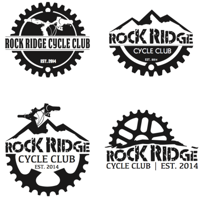 Rock Ridge logo design options