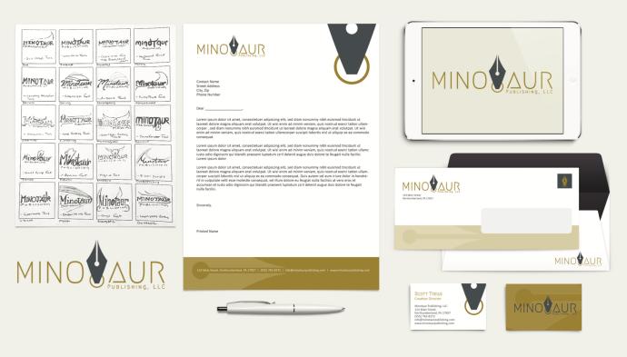 minotaur publishing mockup